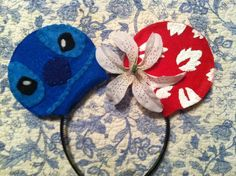 SOLD Lilo and Stitch ears by AllEarsDesigns on Etsy, $20.00