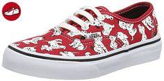 Vans Authentic, Unisex-Kinder Sneakers, Rot (disney/dalmatians/red), 33 EU (*Partner-Link)