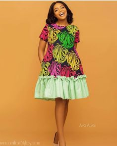 Latest African Fashion Dresses, African Dresses For Women, African Maxi Dresses, African Print Fashion, Ankara Fashion, Ankara Short Gown Styles, Short Gowns, Ankara Gowns, Latest Ankara Gown