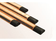 The Half Round Copper-Coated Gouging Carbon can be applied to Excellent for producing Broad & shallow groove