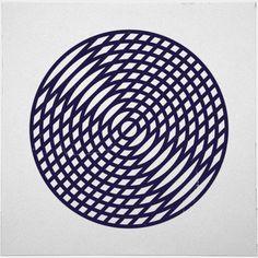 #190 Vinyl– A new minimal geometric composition each day