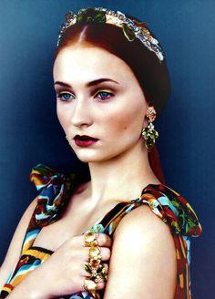 Sophie Turner for Vogue US