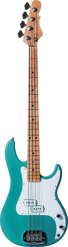 G & L Climax in Bel Air Green.