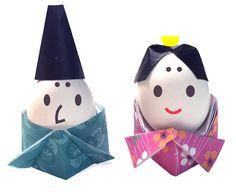 折り紙ひな人形