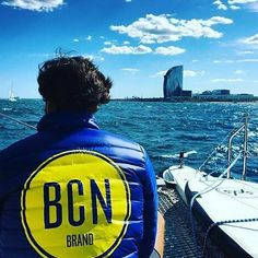 BCN Brand on board 🚩 #bebcnbrand #shooting #sea #blue #fashion #design #bcn #urbanstyle #080bcnfashion