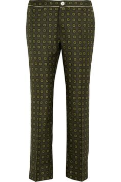 F.R.S For Restless Sleepers|Ceo printed silk-twill wide-leg pants|NET-A-PORTER.COM