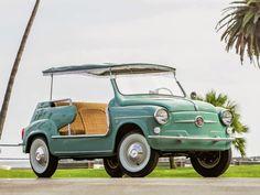 World Of Classic Cars: Fiat 600 Multipla 1957 & Fiat 600 Jolly 1961 - World Of Classic Cars -