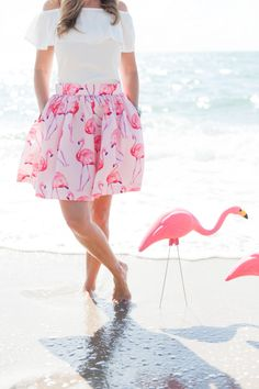 3b92fa004359 Flamingo PARTYSKIRTS    Palm Beach Lately Classic Skirts