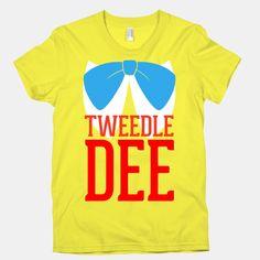 Tweedle Dee | T-Shirts, Tank Tops, Sweatshirts and Hoodies | HUMAN