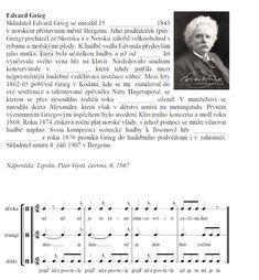 Jak na hudebku: E. Grieg - Peer Gynt aneb Další z vděčných poslech...