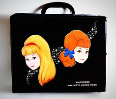 Rare Canadian Miss Teen Black Vinyl Doll Case, Memorabilia by Retrorrific on Etsy