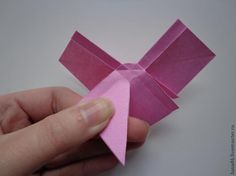 Here is the tutorial to make origami ribbon bow. Follow this steps and you'll get beautiful ribbon bow. These bows would also make beautiful decorations during the holidays. To make this ribbon bow, you just need square paper (you may change with wrapping paper,newspaper etc.) and scissors, simple right?