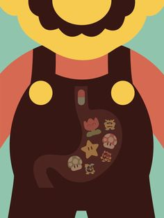 The intestine of Mario