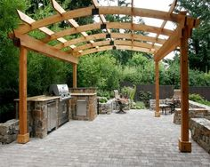Pergola and Patio Cover - Sherwood, OR - Photo Gallery - Landscaping Network