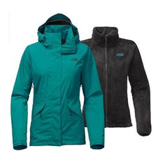 The North Face Women�s Boundary Triclimate Jacket NF0A2TDL - A beautiful waterproof(outer) and fleece(inner) jacket. And the color is just gorgeous.