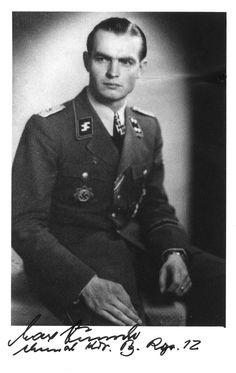 Col. Max Wünsche, Knights Cross with Oak Leaf.