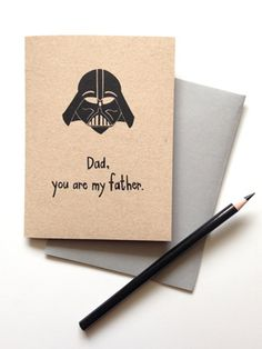 xmas card for Daddy dearest...