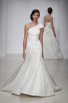 Amsale! ❤️ One Shoulder Wedding Dresses // Aisle Perfect