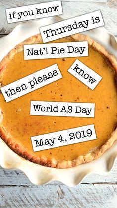 World AS Day 2019 #spondylitis #spondyloarthritis Ankylosing Spondylitis, Camembert Cheese, Pie, Food, Torte, Cake, Fruit Cakes, Essen, Pies