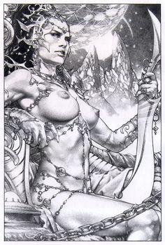 Dejah Thoris Comic Art