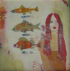 Girl with Fish...judy thorley