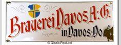Brauerei Davos A.G. in Davos Dorf