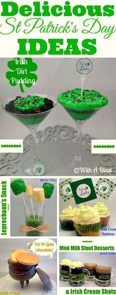 Delicious eats and treats for St Patricks Day !