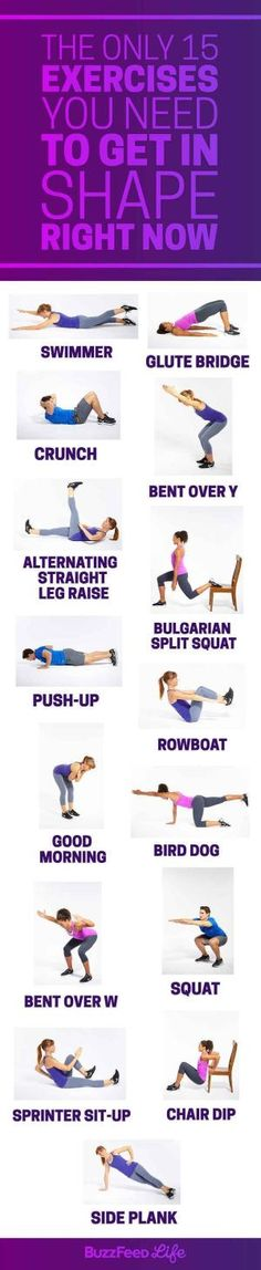 Learn a bunch of bodyweight movements so you can do them when all the weight…