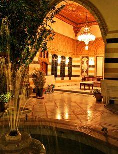 inviting courtyard