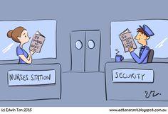 Ed's Rant.: 50 Shades Nurses Station, 50 Shades, 50th, Cartoons, Comics, Fictional Characters, Cartoon, Animated Cartoons, Fifty Shades