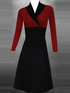 Best Casual Dresses, Formal Dresses, Dresses Dresses, Dresser, V Neck Dress, Types Of Sleeves, Dresses Online, Fashion Design, Fashion Trends