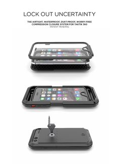 TAKTIK 360 & AQUATIK For iPhone 6 by LUNATIK | Indiegogo