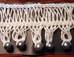 hairpin lace crochet rav