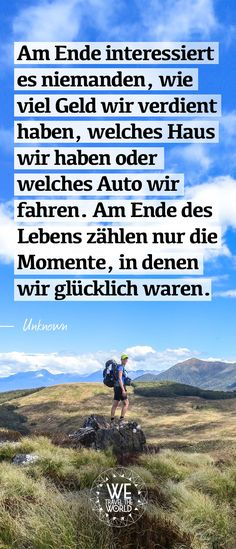 Am Ende interessiert es niemanden, wie viel Geld wir verdient haben, welches Hau. In the end, nobody cares how much money we have earned, which house we have or which car we drive. Money Quotes, Life Quotes, What House, Bmw Autos, German Quotes, Nobody Cares, End Of Life, Famous Last Words, True Words