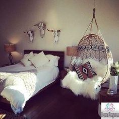 30 Feminine bedroom ideas for teen girls - Bedroom #teengirlbedroomideastumblr