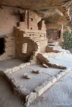 Balcony House, Mesa Verde National Park; photo by .Isaac Borrego   (Near Durango Colorado