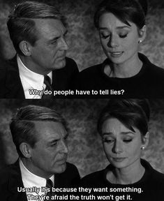 Best Movie Quotes : Audrey Hepburn and Cary Grant. Movies Quotes, Best Movie Quotes, Film Quotes, Funny Quotes, Lyric Quotes, Indie Movies, Qoute, Quotes Quotes, Cary Grant