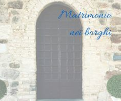 Matrimonio nei borghi