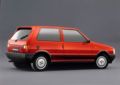 Fiat Uno was awarded Car of the Year in 1983. The one depicted in the picture is the Turbo i.e. model.
