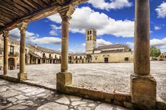 La plaza de Pedraza (Segovia)