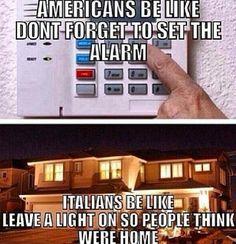 #Italians leave the lights on!
