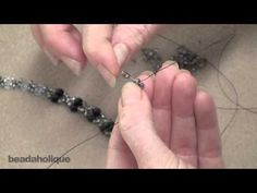 Best Seed Bead Jewelry 2017 How to Multiple-Bead Right Angle Weave Seed Bead Tutorials Seed Bead Jewelry, Beaded Jewelry, Beaded Bracelets, Fashion Jewelry Necklaces, Jewellery Box, Jewellery Shops, Jewelry Stores, Tanishq Jewellery, Jewlery