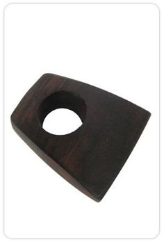 Reliquiae Square Ebony Block Ring $145.00