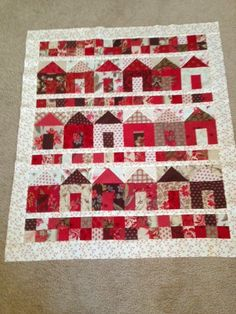 Gerri's Full House (pattern by Miss Rosie's Quilt Company - Carrie Nelson