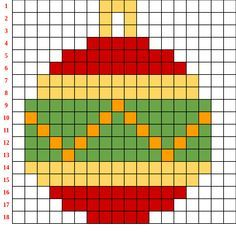 Natale e coding - tra pixel art e Scratch - Paidea Loom Patterns, Beading Patterns, Embroidery Patterns, Pixel Art Noel, Cross Stitch Designs, Cross Stitch Patterns, Modele Pixel Art, Pixel Art Templates, Xmas Cross Stitch