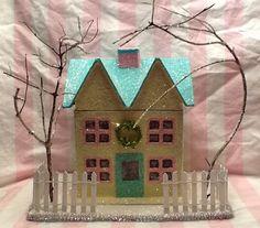 tooo cute Putz house