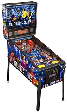 IT'S a REAL LIFE ROLLING STONES PINBALL MACHINE!!! I WANT!!!!