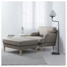 IKEA offers everything from living room furniture to mattresses and bedroom furniture so that you can design your life at home. Check out our furniture and home furnishings! Brown Wood, Black Wood, Red Black, Best Nursing Chair, Ikea Stocksund, Pipe Decor, Sofa Legs, Affordable Furniture, Furniture Ideas