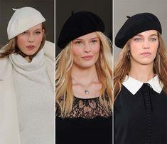 Fall/ Winter 2014-2015 Headwear Trends: Berets  #hats #headwear