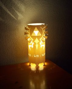 The Legend Of Zelda Triforce Table Lamp | VIDEO GAME STUFF. | Pinterest |  Video Game
